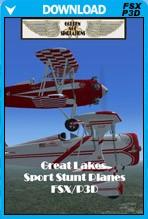 1950's Great Lakes Sport Stunt Planes
