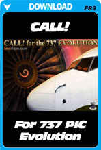 CALL! for PIC 737 Evolution (FS2004)