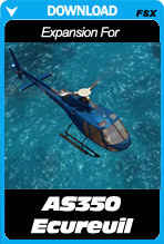 Expansion Pack For Aerospatiale AS350 Ecureuil for FSX