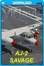 AJ-2 Savage for FSX