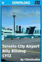 Toronto City Billy Billshop Airport CYTZ