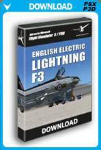 English Electric Lightning F3 X (FSX+P3D)