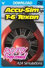 A2A Simulations Accu-Sim T-6 Texan FSX/P3D Professional Bundle