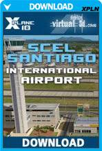 Santiago International SCEL (X-Plane)