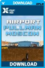 Airport Pullman-Moscow (X-Plane)