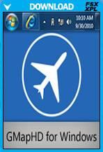 GMapHD (FSX/FS2004/X-Plane)