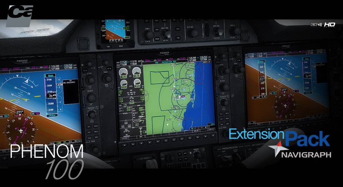 Navigraph Extension Pack for E50P Phenom 100 (FSX/P3D)