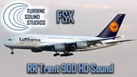 Airbus 380 Rolls Royce Trent-900 Soundpack for FSX