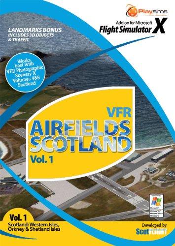 VFR Airfields Scotland Vol 1 Scotland Western Isles FSX