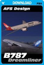 AFS Design Boeing 787 Dreamliner (FS2004)
