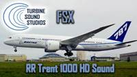 Boeing 787 Rolls Royce Trent-1000 soundpack for FSX