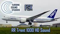 Boeing 787 Rolls Royce Trent-1000 soundpack for FSX