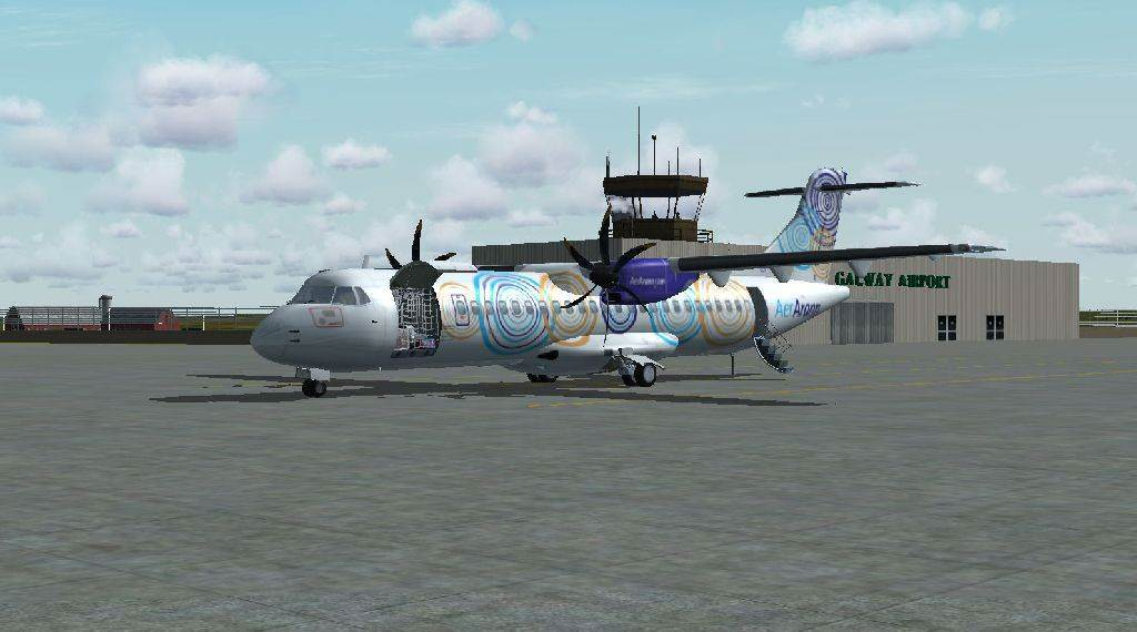 Galway Airport & Arann Islands (FSX)