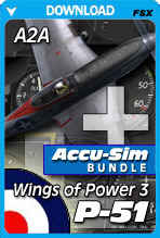 A2A Wings of Power 3 P-51 + Accu-sim Bundle