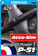 Accu-Sim for the Wings of Power 3 P-51