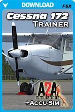 A2A Simulations Cessna 172 Trainer + Accusim