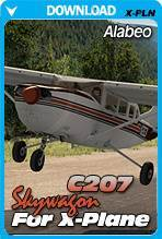 Alabeo Skywagon 207 (X-Plane)