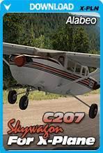 Alabeo Skywagon 207 (X-Plane)