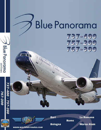 Just Planes DVD - Blue Panorama