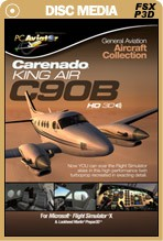 General Aviation Aircraft Collection: C90B King Air HD Series