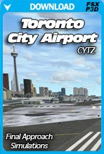 CYTZ Toronto City Airport V1.5 (FSX/P3D)