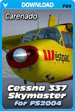 Cessna C337H Skymaster For FS2004