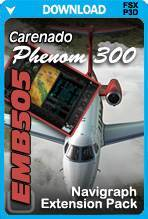 Navigraph Extension Pack for the Carenado EMB505 Phenom 300 (FSX/P3D)