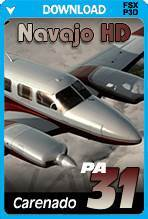 Carenado PA31 Navajo HD Series (FSX+P3D)