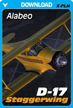 Alabeo D-17 Staggerwing (X-PLANE)