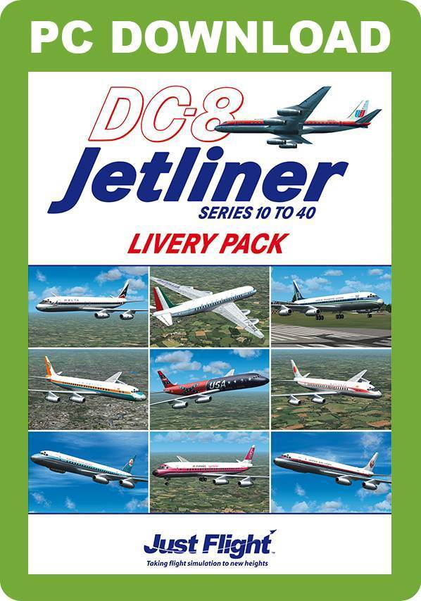 DC-8 Jetliner 10 to 40 Livery Pack