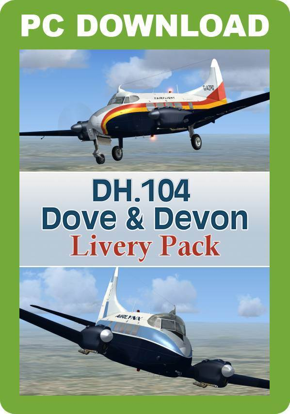 DH.104 Dove & Devon Livery Pack