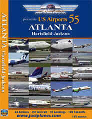 Just Planes DVD - Atlanta Hartsfield-Jackson