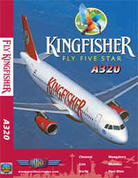 Just Planes DVD - Kingfisher A320