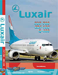 Just Planes DVD - Luxair Fleet