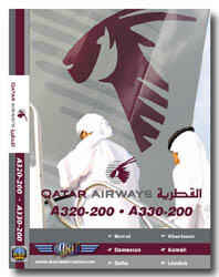 Just Planes DVD - Qatar Airlines