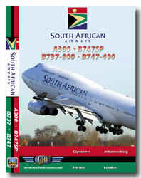Just Planes DVD - South African Airways