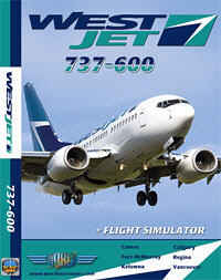 Just Planes DVD - West Jet 737-600