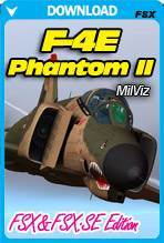 F-4E Phantom II For FSX