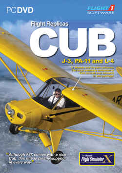 Flight Replicas Cub for FSX
