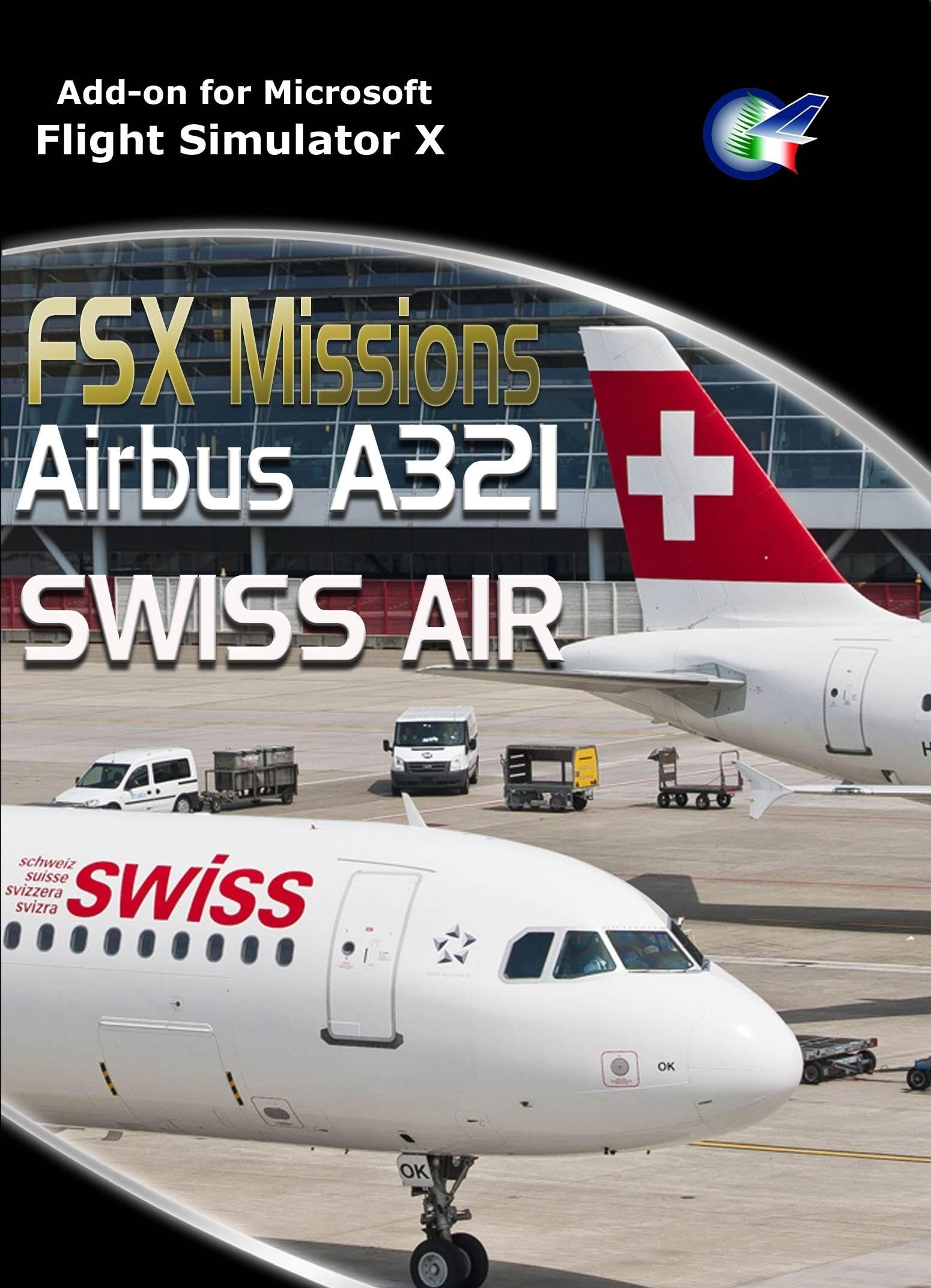 FSX Missions Airbus A321 Swiss Air