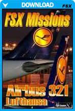 FSX Missions - Airbus 321 Lufthansa