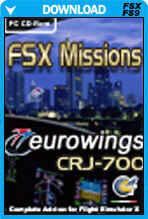 FSX Missions Eurowings CRJ-700