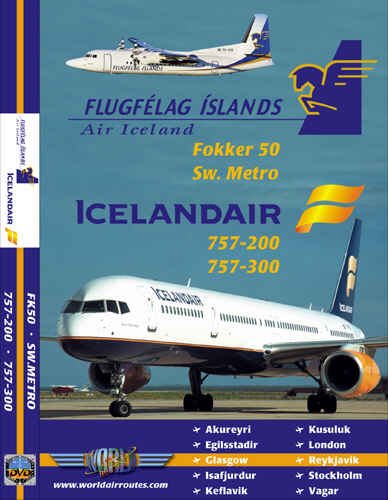 Just Planes DVD - Icelandair