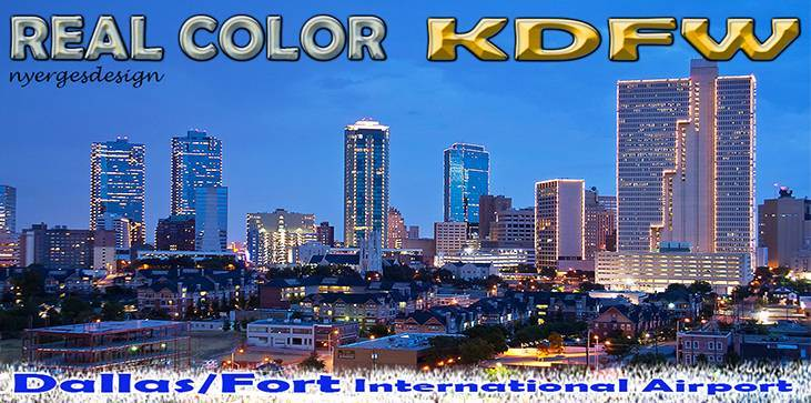 Real Color KDFW for Tower! 2011