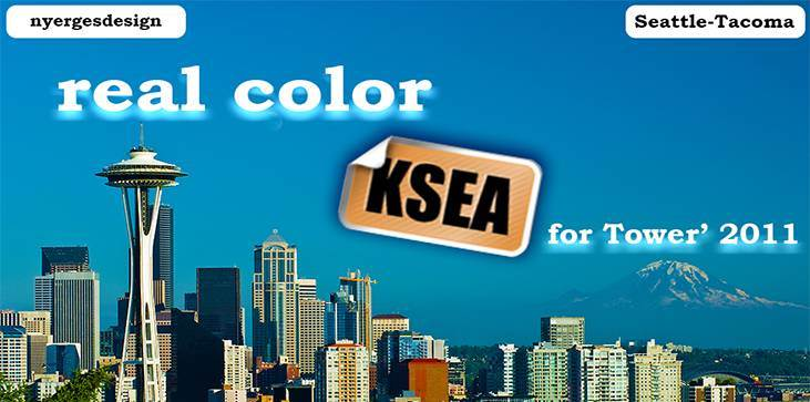 Real Color KSEA for Tower! 2011