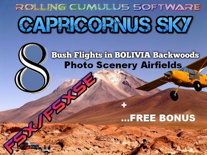 Capricornus Sky - Bolivia for Bush Pilots