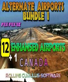 Alternate Airports Bundle I - Canada
