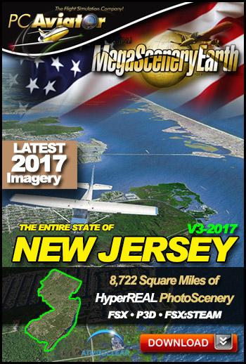 MegaSceneryEarth 3 - New Jersey (2017)