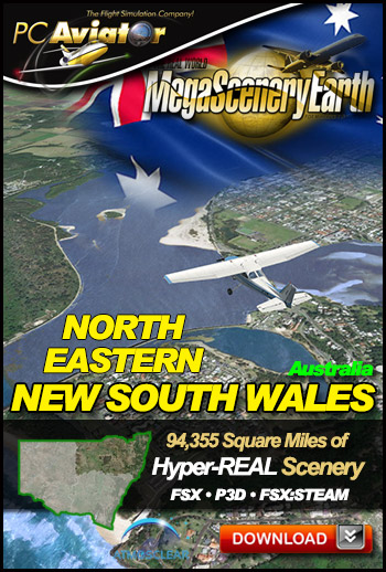 MegaSceneryEarth 3 - New South Wales (North East)