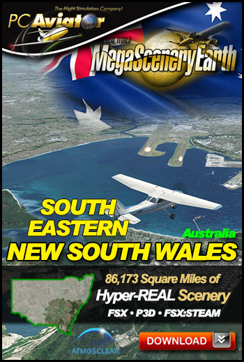 MegaSceneryEarth 3 - New South Wales (South East)